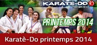 Karaté-Do printemps 2014